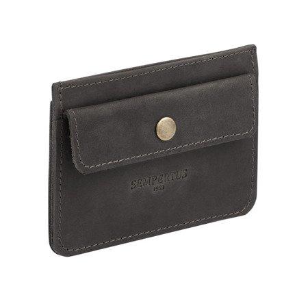 Skórzany cienki portfel męski bez podszewki PM-12/CH